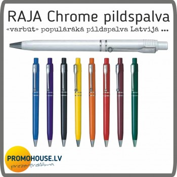 Pildspalva 120 Raja Chrome