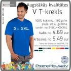 1 T krekls vīr PREMIUM V-NECK PROMODORO