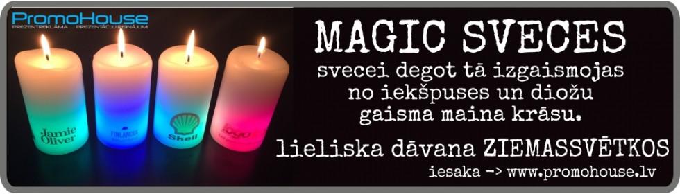 Maģiskās sveces
