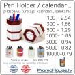A - Pildspalvu turētājs / kalendārs