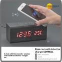 Pulkstenis ar induktīvo lādētāju