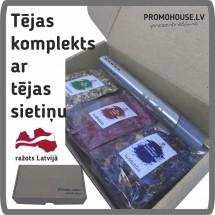 Tējas komplekts - ražots LATVIJĀ