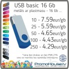 134 USB zibatmiņa BASIC 16 Gb